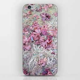 Fallen Leaves, No. 2 iPhone Skin