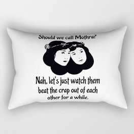 Cosmos Twin Fairies Rectangular Pillow