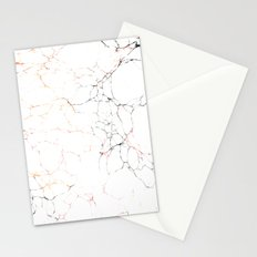 Marbled Cream 2 Stationery Cards