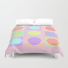 Pastel Dots Duvet Cover