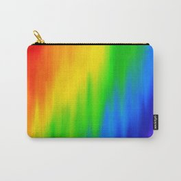 Diagonal Rainbow Blend Carry-All Pouch