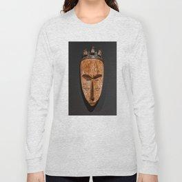 Cameroon fang ngil african wooden mask Long Sleeve T-shirt