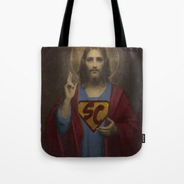 superchrist Tote Bag