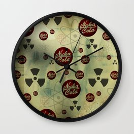 Nuka Cola Radiation Wall Clock