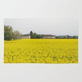 Rape field Rug