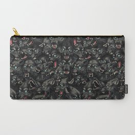 Wolf Pack Pattern Carry-All Pouch
