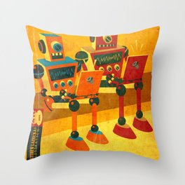 Internet Junkies Throw Pillow