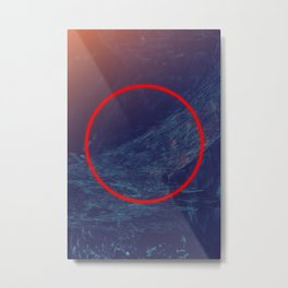 Keeper Of Secrets | Abstract Art Metal Print