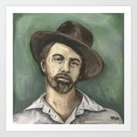 Walt Whitman Art Print