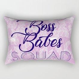 Boss Babes Squad I Rectangular Pillow