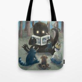 Reading Circle (option) Tote Bag