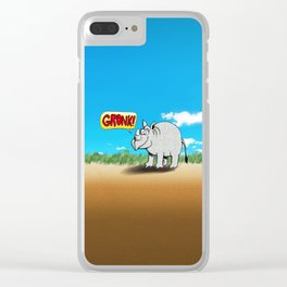 GRONK! Clear iPhone Case