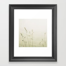 Stems Framed Art Print