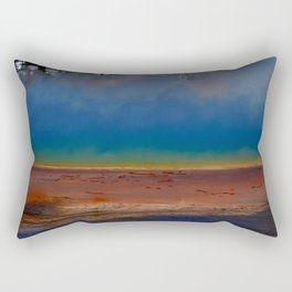 The Wonder of the Great Prismatic Spring Rectangular Pillow