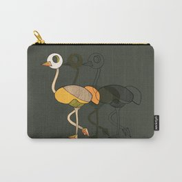 keep your head up _ostrich 2 Carry-All Pouch