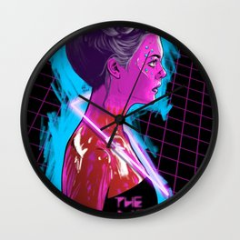 The Neon Demon Wall Clock