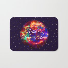 Reiki is Divine Love | The Energy it Flows | Going with the Flow Bath Mat