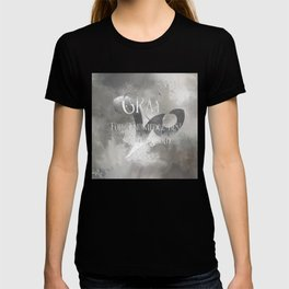 GRAY for knowledge best untold. Shadowhunter Children's Rhyme. T-shirt
