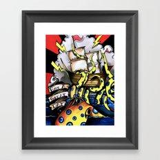 ceplalopod attack squad Framed Art Print