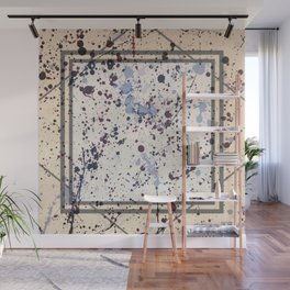 Attraction - square graphic Wall Mural