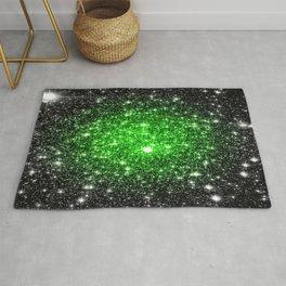 galAxy. Stars Lime Green Rug