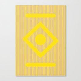 Geometric Calendar - Day 34 Canvas Print