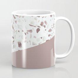 Terrazzo Texture Antique Pink #6 Coffee Mug