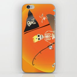 s/h/el/l/fish (voluntary human extinction: part ii) iPhone Skin