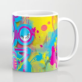 Dipopai - Bring the fight - Yellow Coffee Mug