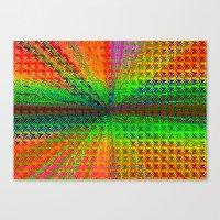 psychedelic Canvas Prints featuring Psychedelic by Debbie Clayton