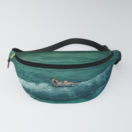 Big Whale and lover Fanny Pack