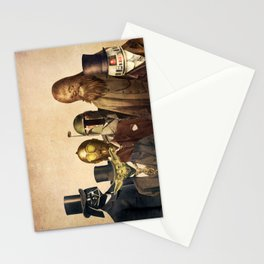 Victorian Wars (square format) Stationery Cards
