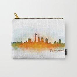 San Antonio City Skyline Hq v3 Carry-All Pouch