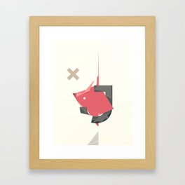 J's HOUSE Framed Art Print