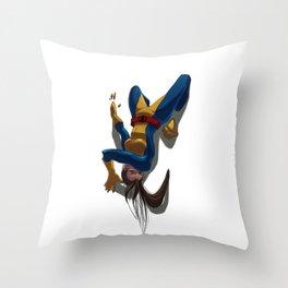 Shadowcat Throw Pillow