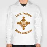 lebowski Hoodies featuring Little Lebowski Urban Achievers  |  The Big Lebowski by Silvio Ledbetter