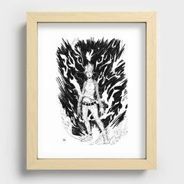 Full Power Recessed Framed Print