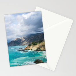 Parting Clouds in Big Sur Stationery Cards