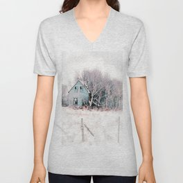 Tattered Curtains Unisex V-Neck