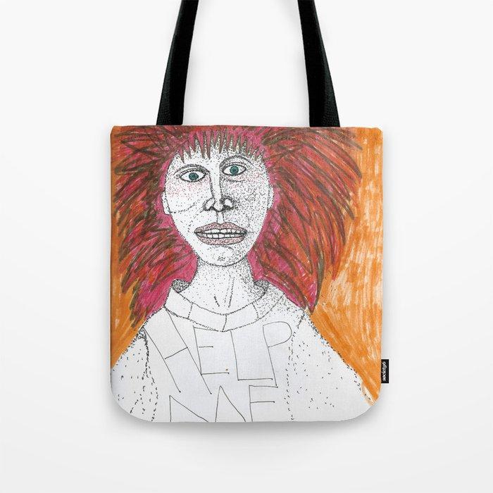 Inside I Scream Tote Bag