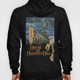 House On Haunted Hill, 1959 Campy Horror Movie Hoody