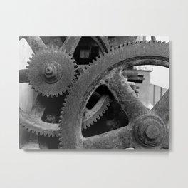 Big Gears Metal Print