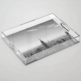 New York City - Empire State Building Acrylic Tray