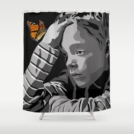 """""""God bless the child"""" 102 Shower Curtain"""