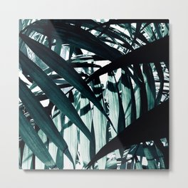 Inside of Palm Trees Metal Print