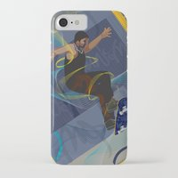 skateboard iPhone & iPod Cases featuring Project Skateboard by Martin Orme