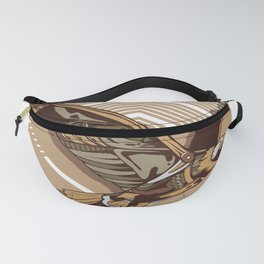 Steampunk eagle Fanny Pack