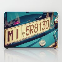porsche iPad Cases featuring Porsche by Sébastien BOUVIER