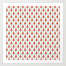 Tulip Dress Art Print