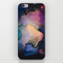 Color layers 3 iPhone Skin